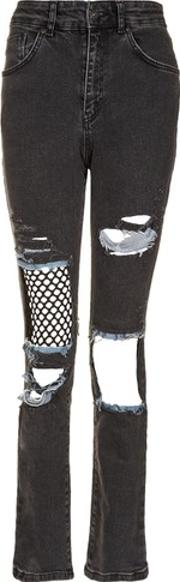 The Ragged Priest , Womens Mesh Insert Jeans By