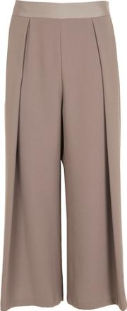 Topshop , Womens Petite Crop Wide Leg Trousers
