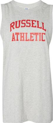 Russell Athletic , Womens Logo Print Tank Top By