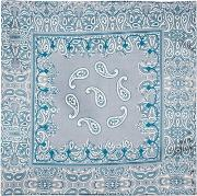 Topshop , Womens Paisley Print Silky Scarf