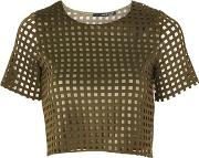 Tfnc , Womens Sian Crop Top By