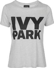 Ivy Park , Womens Logo Crew Neck Tee By
