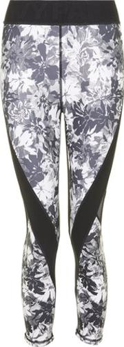 Ivy Park , Womens Floral Mesh Low Rise Legging By
