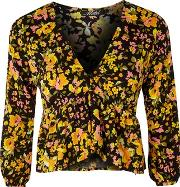 Motel , Womens Mosca Plunge Top By