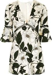 Rare , Womens Floral Printed Mini Dress By