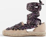 Topshop , Womens King Lace Up Espadrilles