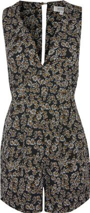 Wyldr , Womens Bound To You Daisy Playsuit By
