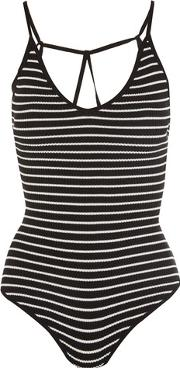 Wyldr , Womens Get Free Black And White Bodysuit By