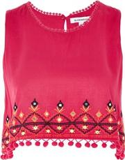 Glamorous , Womens Embellished Shell Top By
