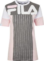 Fila , Womens Colour Block T Shirt By