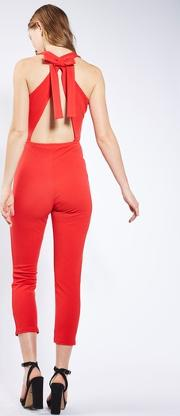 Oh My Love , Womens Bow Back Jumpsuit By