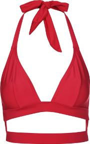 Wolf & Whistle , Womens Fuller Bust Triangle Bikini Top By