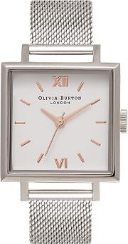 Olivia Burton , Womens Big Square Dial Watch By