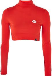 Illustrated People , Womens Red Polo Top By