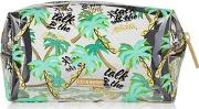 Skinny Dip , Womens Talk To The Palm Make Up Bag By Skinnydip