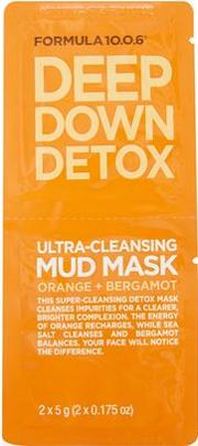 Topshop , Womens Deep Down Detox Face Mask Sachet