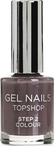 Topshop , Womens Gel Nail Colour In Parody