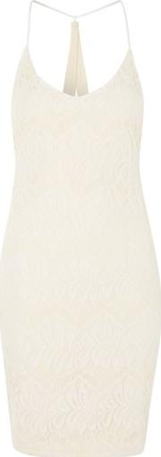 Wyldr , Womens Hands Down Ivory Lace Dress By