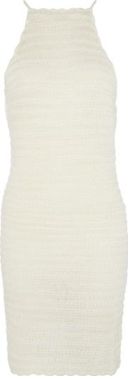 Wyldr , Womens Ocean Drive Ivory Knitted Dress By