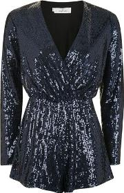 Oh My Love , Womens Sequin Playsuit By