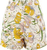 Glamorous Tall , Womens Floral Print A Line Shorts By