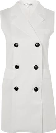 Rare , Womens Crossover Button Sleeve Jacket By