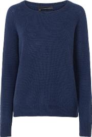 360 Sweater , Jamie Jumper In Marina