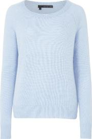 360 Sweater , Jamie Jumper In Wedgewood