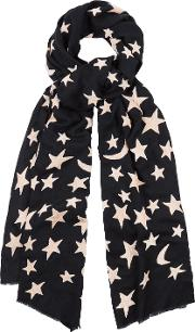Bella Scarf In Navy And Pink