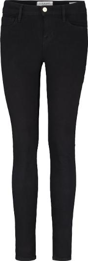 Le Color Skinny Jeans In Noir