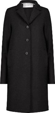 Boxy Coat In Black