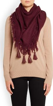 Douce Gloire , Che Chic Scarf In Burgundy