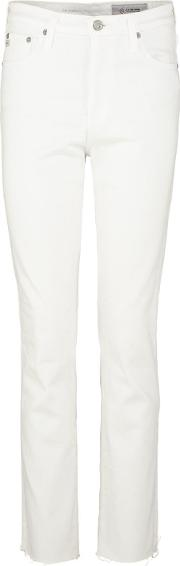 Ag , Isabelle Straight Jean In 01 Year White