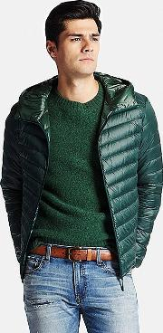 Uniqlo , Men Ultra Light Down Parka Green Xxl