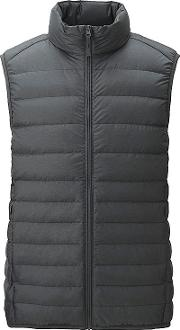 Uniqlo , Men Ultra Light Down Vest Dark Gray 3xl