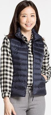 Uniqlo , Women Ultra Light Down Vest Navy Xxl
