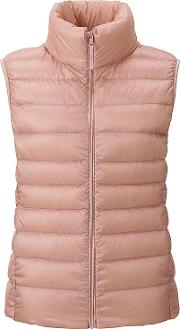 Uniqlo , Women Ultra Light Down Vest Pink 3xl