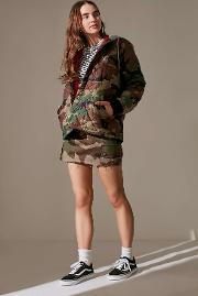 Mademe , X Girl Quilted Camo Work Jacket