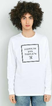 Edwin , Hero White Long Sleeve T Shirt