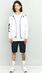 Fila , Perrotti White Windbreaker Jacket, White