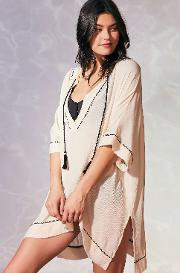 Out From Under , Lola Caftan Cover Up, Ivory
