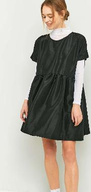 Rework By Urban Outfitters , Black Babydoll Dress, Black