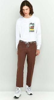 Shore Leave By Urban Outfitters , Shore Leave Rory Brown Skate Trousers, Brown
