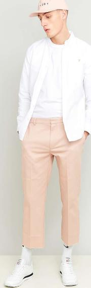 Shore Leave By Urban Outfitters , Shore Leave Rory Pink Skate Raw Cut Trousers, Pink