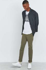 Shore Leave By Urban Outfitters , Shore Leave Skinny Green Chinos, Khaki
