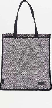 Urban Outfitters , Basic Mesh Tote Bag, Black
