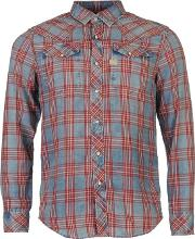 G Star , Tacoma Long Sleeve Checked Shirt