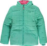 Puffa , Hooded  Jacket Junior Girls