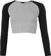 Essentials , Raglan Crop Top