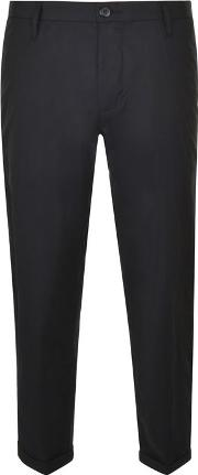 Dkny , Slim Turn Up Trousers